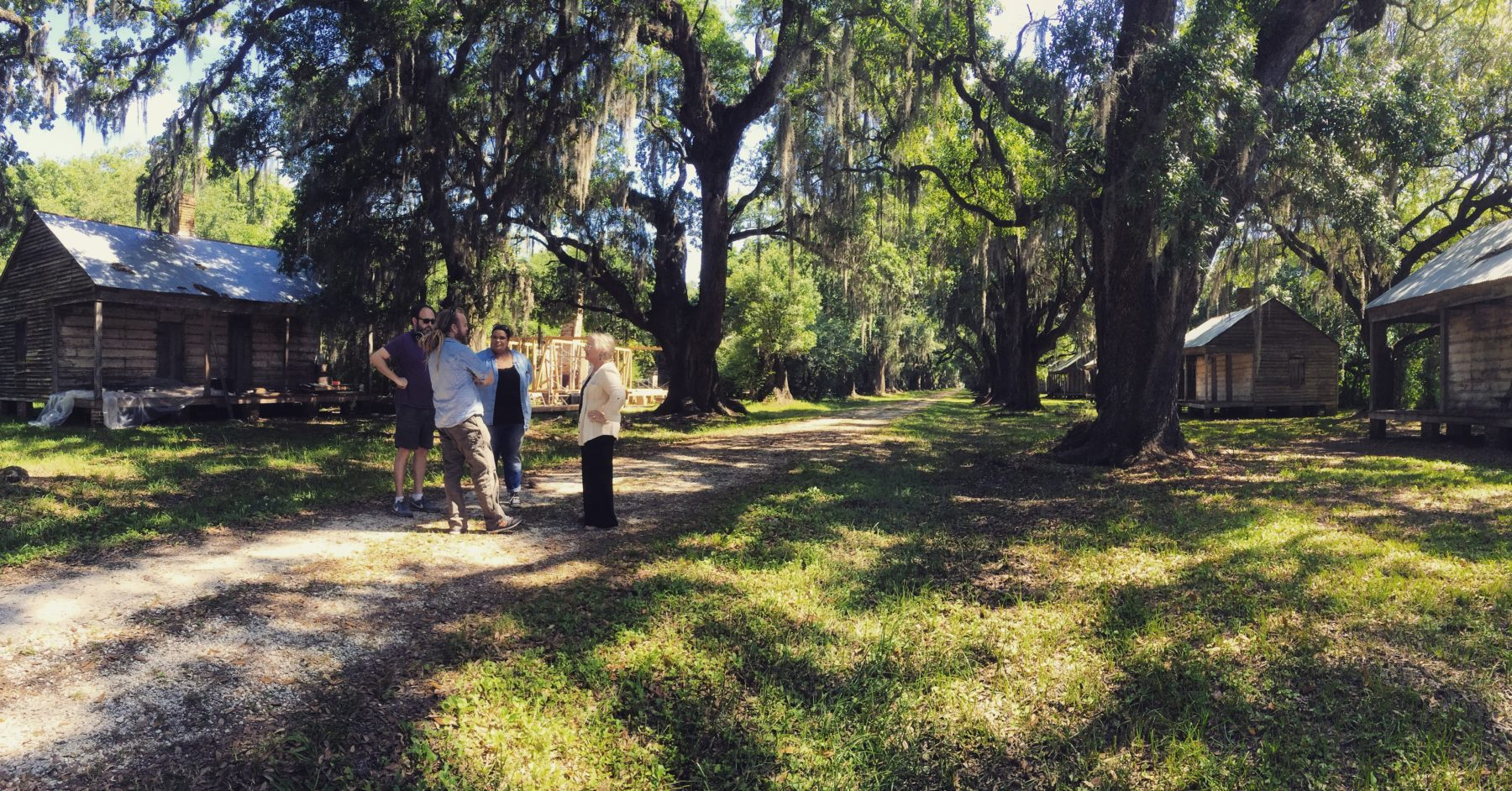 Evergreen Plantation --behind the scene.