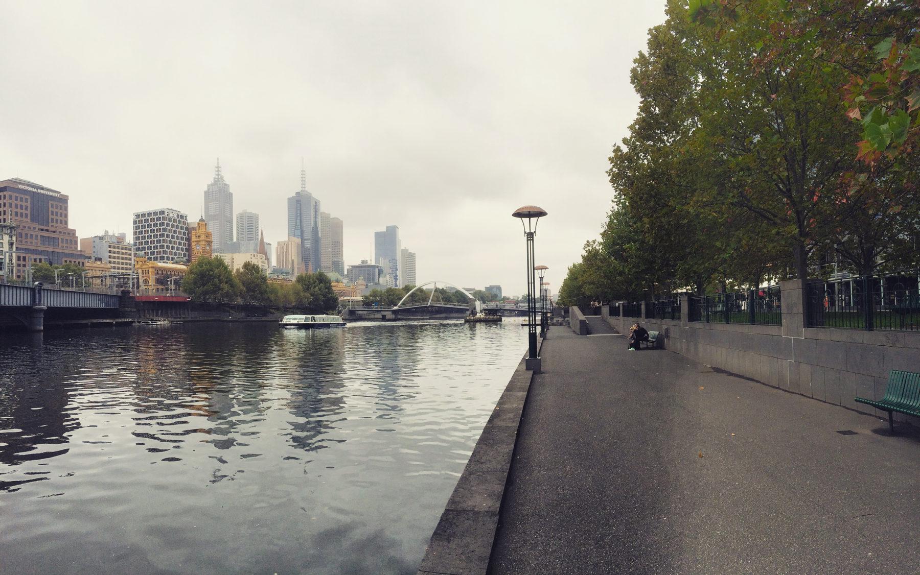 Melbourne Yarra River -- Victoria, Australia